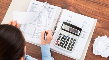 бухгалтер с забалансовыми счетами