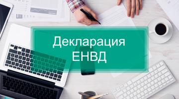 сроки декларации ЕНВД